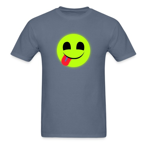 Glowing Emoticon - Men's T-Shirt