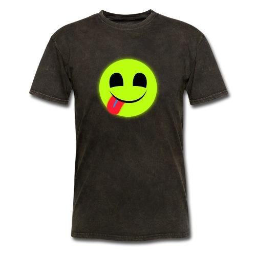 Glowing Emoticon - Men's T-Shirt