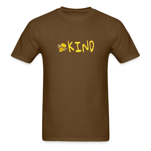 Be Kind - Adorable bumble bee kind design - Men's T-Shirt