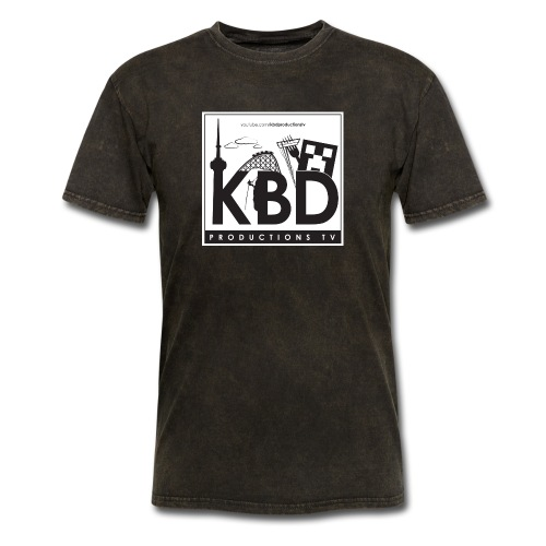 kbd square design final - Men's T-Shirt