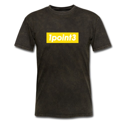 1point3 yellow - Men's T-Shirt