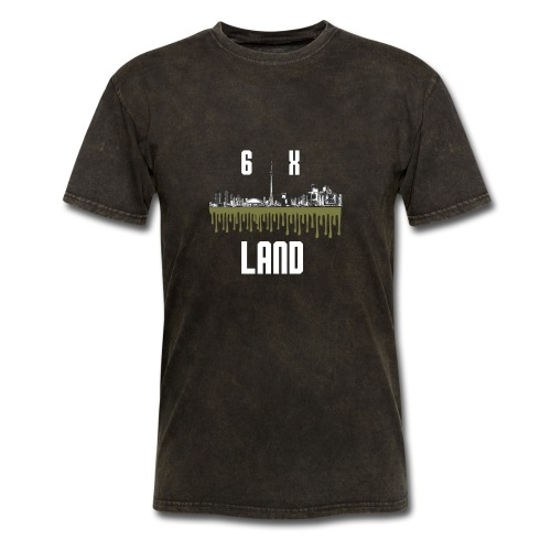 6ixland Logo - Men's T-Shirt
