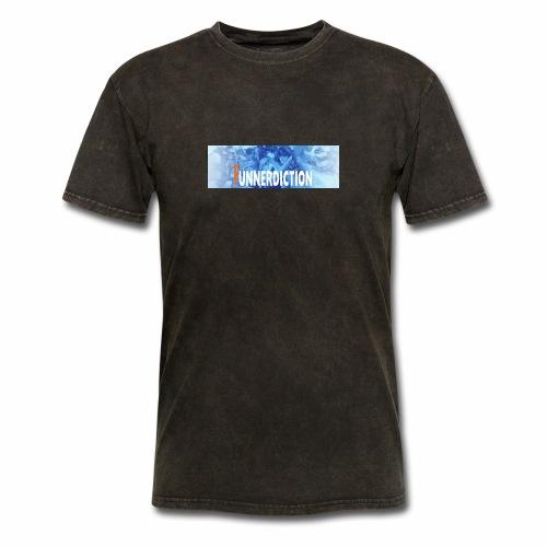 funnerdiction banner - Men's T-Shirt