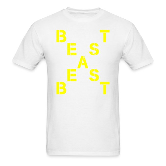 All Beast Bold distressed logo
