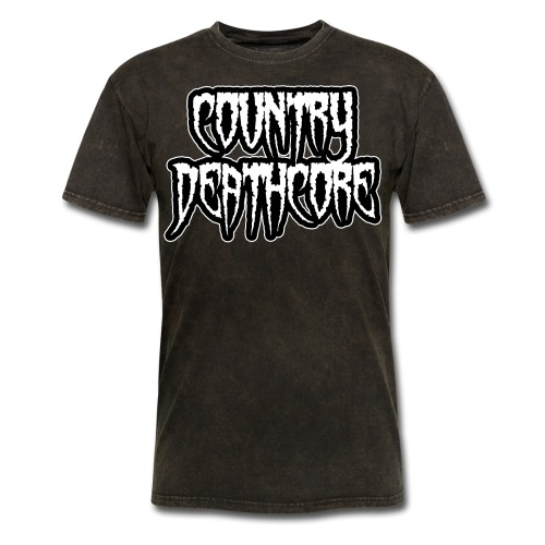 COUNTRY DEATHCORE - Men's T-Shirt