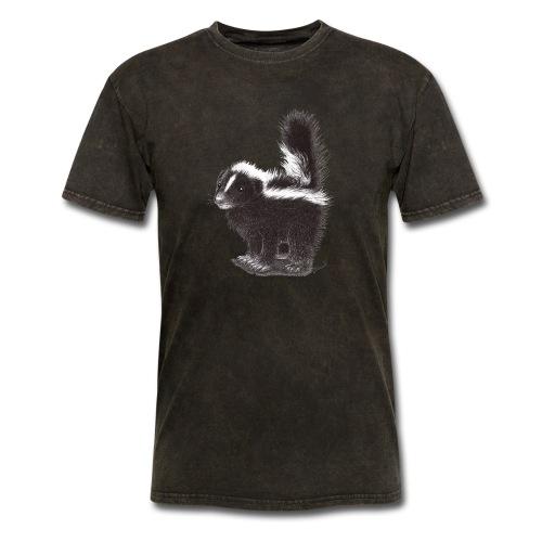 Cool cute funny Skunk - Men's T-Shirt