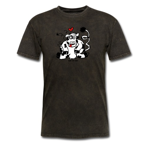 Unbridled Cow's Passion - Men's T-Shirt