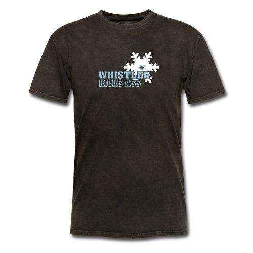 Whistler Kicks Ass - Men's T-Shirt