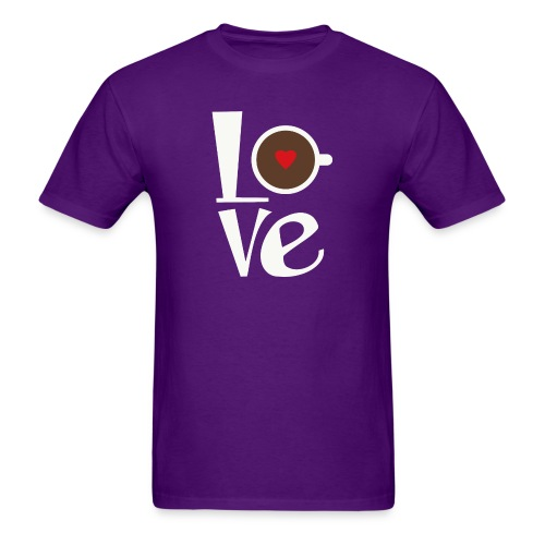 Love Coffee - Men's T-Shirt