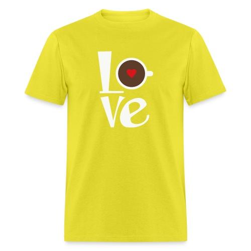 Love Coffee - Men's T-Shirt