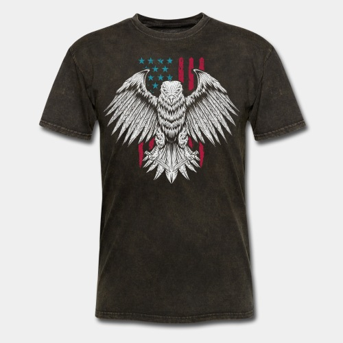 usa eagle american - Men's T-Shirt