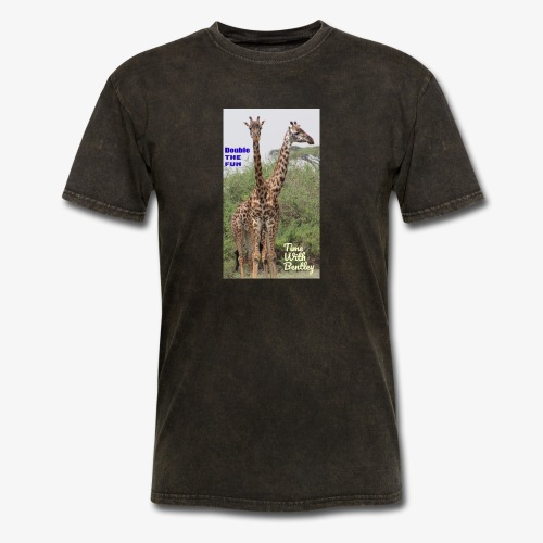 Two Headed Giraffe - Men's T-Shirt