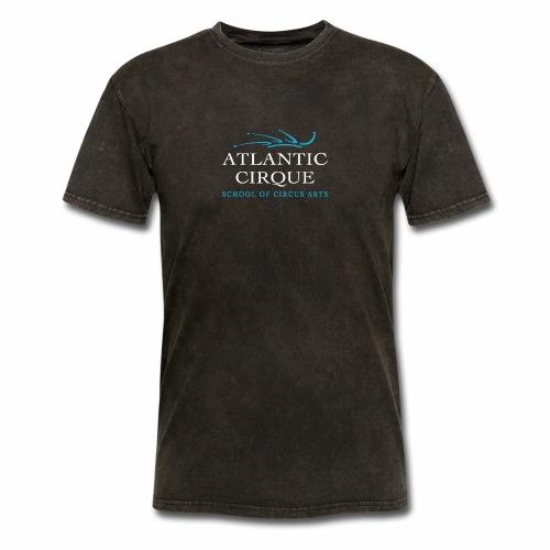 AC logo PNG on dark - Men's T-Shirt