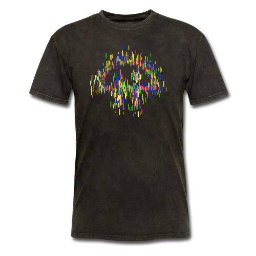Stylized TWiT logo as rectangles - Men's T-Shirt