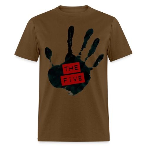 the five logo black on transparent - Men's T-Shirt