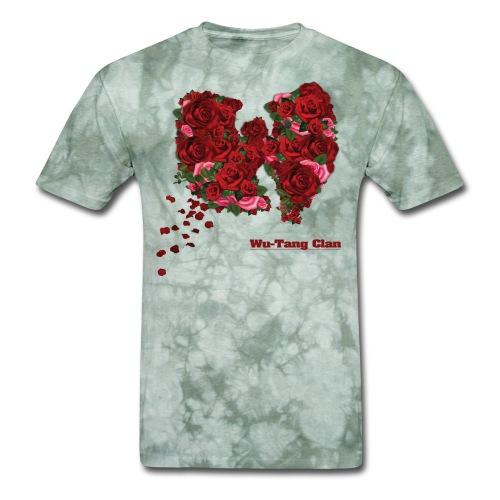 WU Tang [FLAT]-[smaller]- - Men's T-Shirt