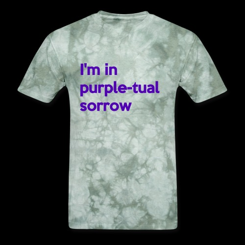 Purple-tual sorrow - Men's T-Shirt