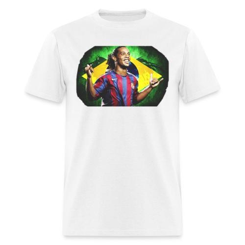 Ronaldinho Brazil/Barca print - Men's T-Shirt