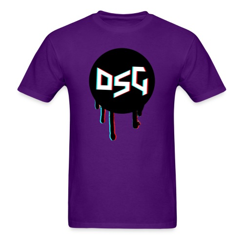 DSG BLACK 250K png - Men's T-Shirt