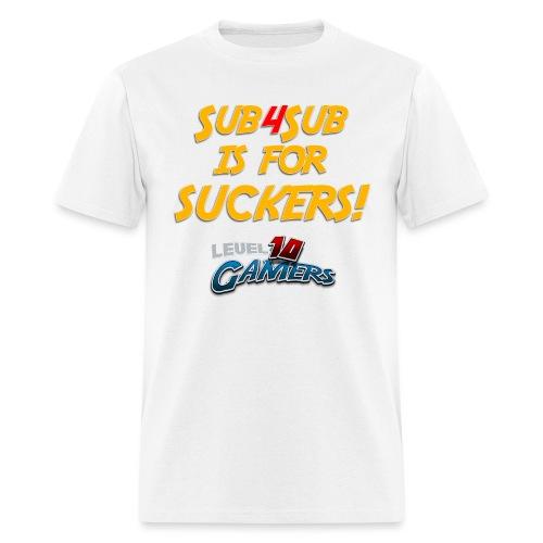 Anti Sub4Sub - Men's T-Shirt