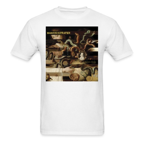 Mantis and the Prayer- Butterflies and Demons - Men's T-Shirt