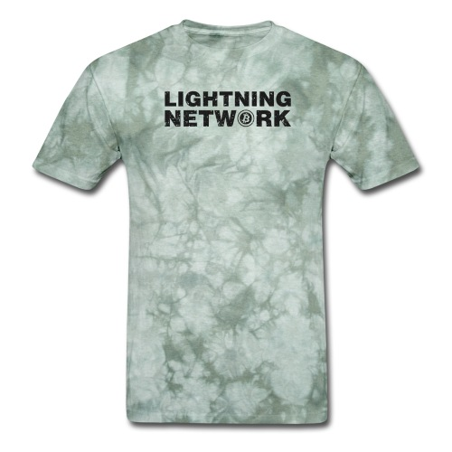 Lightning Network Bitcoin Tshirt - Men's T-Shirt
