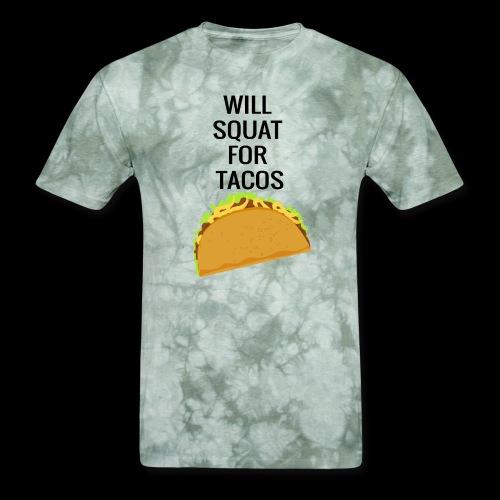 Squat for Tacos - Men's T-Shirt