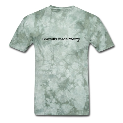 fearfully made beauty - Men's T-Shirt