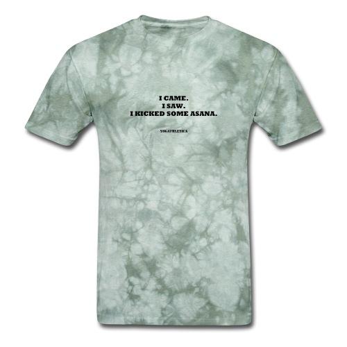 yoga kick asana - Men's T-Shirt