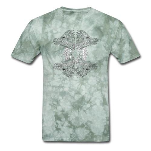 Four head dragon - Men's T-Shirt