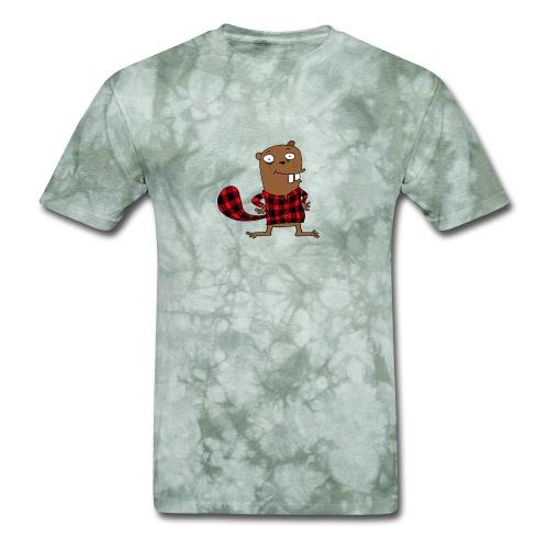 Canadian beaver - Men's T-Shirt