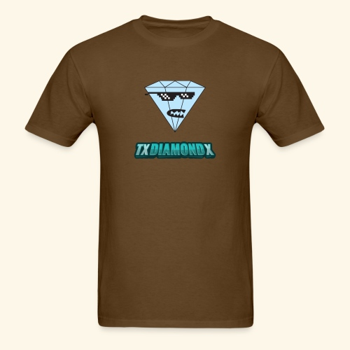 Txdiamondx Diamond Guy Logo - Men's T-Shirt