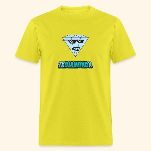 Txdiamondx Diamond Guy Logo - Men's T-Shirt