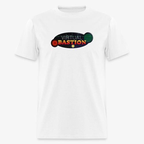 Virtual Bastion: Space Logo - Men's T-Shirt