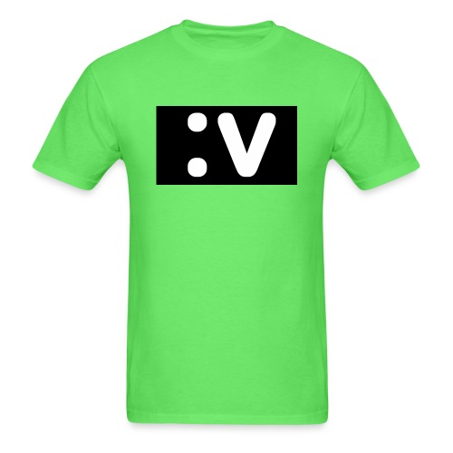LBV side face Merch - Men's T-Shirt