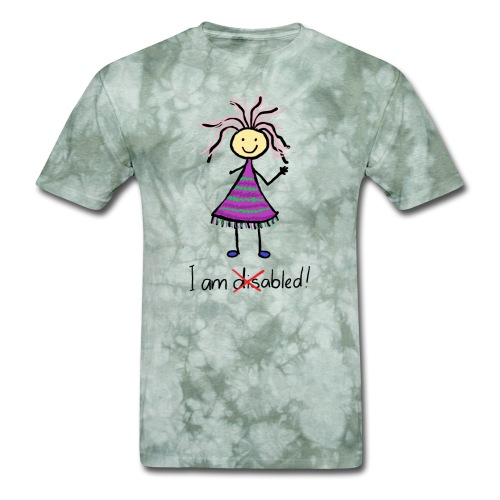 Kid with disability - I am able! Limb difference 2 - Men's T-Shirt
