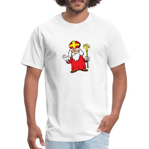 Saint Nick Smoking!? - Men's T-Shirt