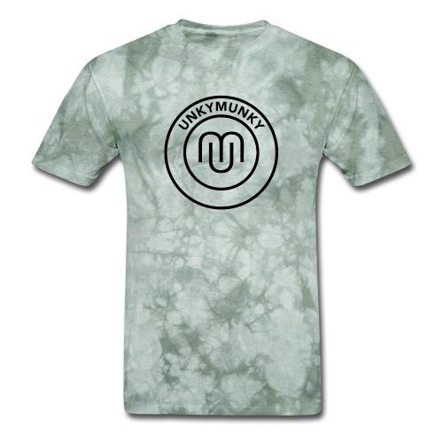 UnkyMunky Logo black - Men's T-Shirt