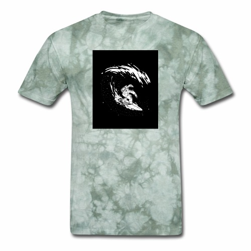 Astronaut Surf tshirt 01 HQ 01 - Men's T-Shirt
