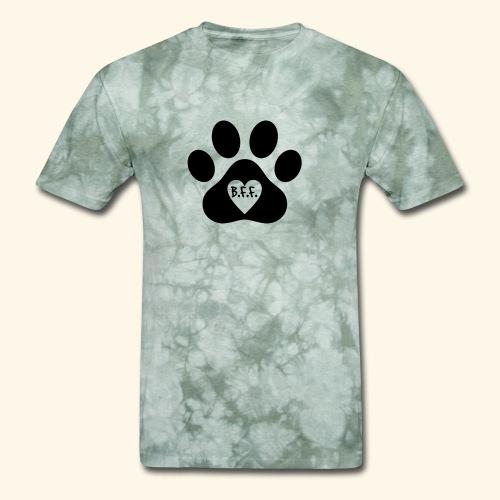 Dog Paw B.F.F. Design - Men's T-Shirt