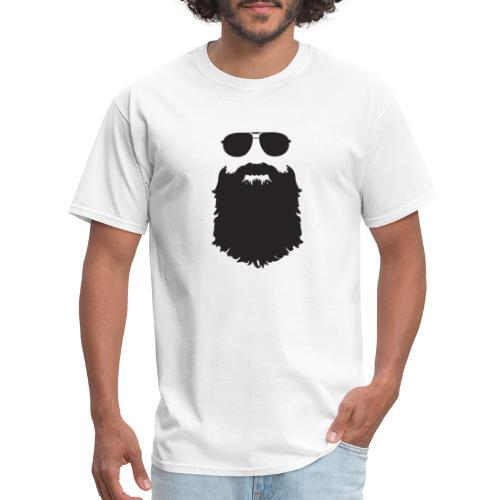 Beardy Silhouette - Men's T-Shirt