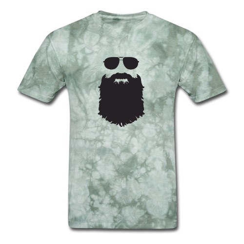Beardy Silhouette - Men's T-Shirt