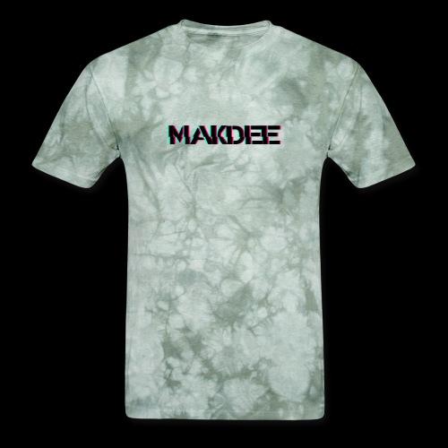 MakDee Glitch Logo - Men's T-Shirt