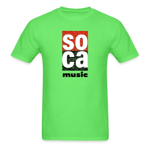 Soca music - Men's T-Shirt