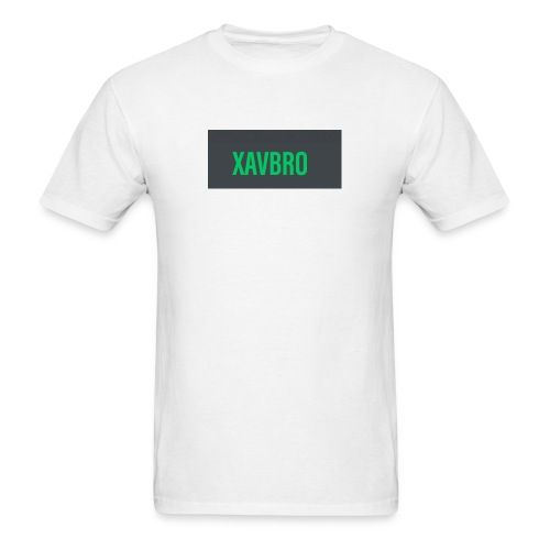 xavbro green logo - Men's T-Shirt