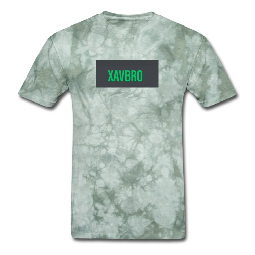 xavbro green logo - Men's T-Shirt