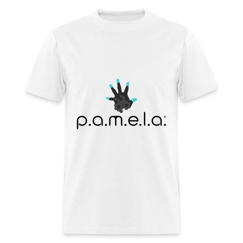 P.A.M.E.L.A. Logo Black - Men's T-Shirt