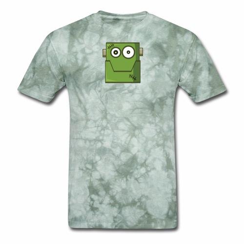 Funny skull zombie Halloween pumpkin Tee shirt - Men's T-Shirt