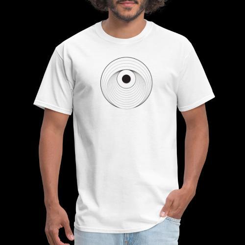 Black Dirt Vortex Logo Light - Men's T-Shirt