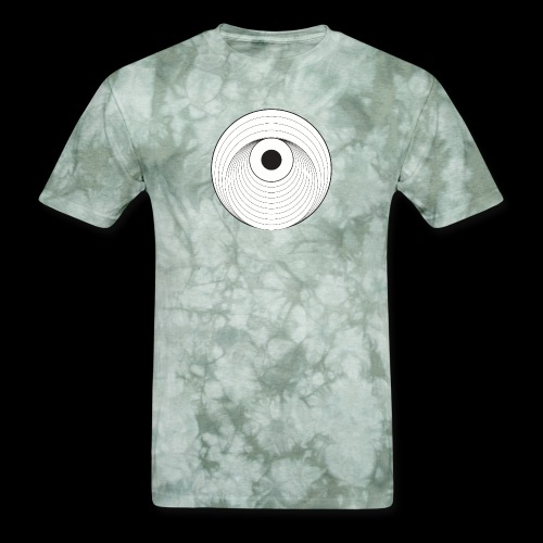 Black Dirt Vortex Logo Light - Men's T-Shirt